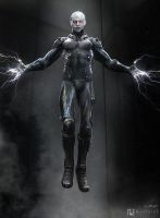 Amazing Spiderman 2 Electro Concept 1 by JSMarantz
