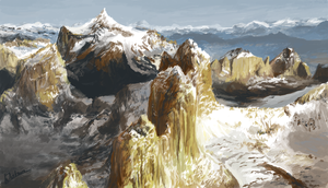 Mountain Study by Kubeen