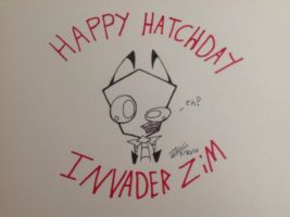 Invader Zim Anaversry by InvaderZec