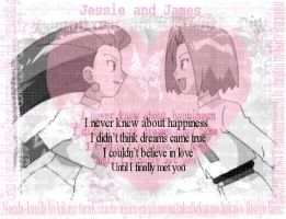 I Never Knew -Jessie and James by TeamRocketGurl