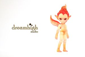 FIRA 7 cm MICRO FAIRY BJD 1 by DreamHighStudio