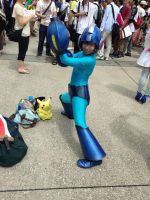 Mega Man Cosplay   full length by himefuji