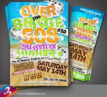 Over The Bridge Flyer 3 by AnotherBcreation
