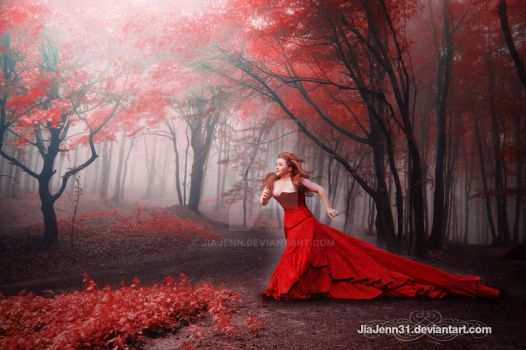 Red Forest by jiajenn