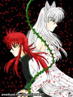 [Prize] +Youko and Kurama+ by amethyst-rose