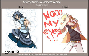 Character Development meme by Nerior