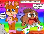 BabyBear n Miles 2 late Easter by Malort57