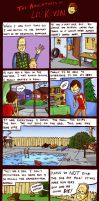 The Adventures of Lil' Kevin by glassonion14