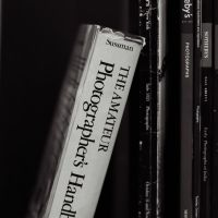 The Photographer's Bookcase by colleenchiquita