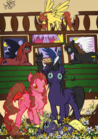 My Little Pony meets Final Fantasy VII Crisis Core by SoraNoRyu
