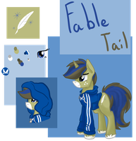 Fables Reference Sheet by Amiookamiwolf