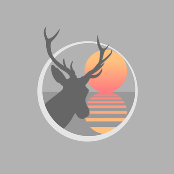 Stag Sunset by chrisjrichards