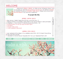 Make A Wish Cherry Blossom Layout Preview by dontforgetthemilk