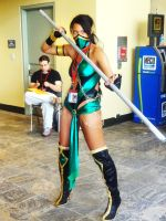 Mortal Kombat's Jade Cosplay at Otakon 2013 by GamerZone18