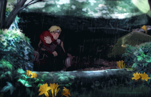 Waiting on the Rain by T-Raposo