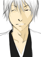 Gin Righthand Man by Aizen-Sousuke