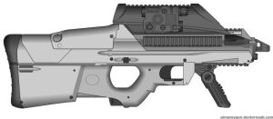 Hive Industries Mk I Stinger (Combat Rifle) by Scarlighter