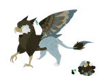 Offer To Adopt A Griffin! (CLOSED) by ColoredClear