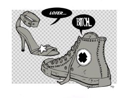 Talking Shoes by DenisM79