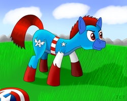 Captain America by RainbowJET