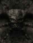 Demon's Stone Face by KaueDalcin