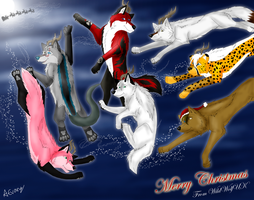 Merry Christmas Bestfriends... by TheDaylightWolf