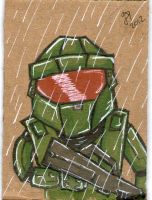 Master Chief PSC by johnnyism