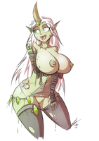 Nurgle Daemonette by Sexual-Yeti