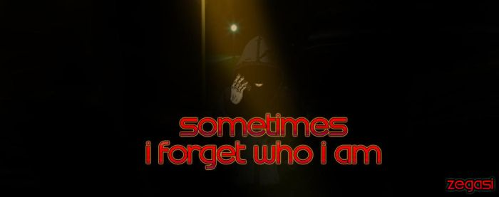 Sometimes I forget WhoI am by Zegasi