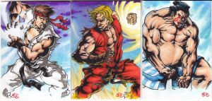 Street Fighter PSC by JesterretseJ
