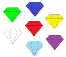 The Chaos Emeralds by MollyKetty