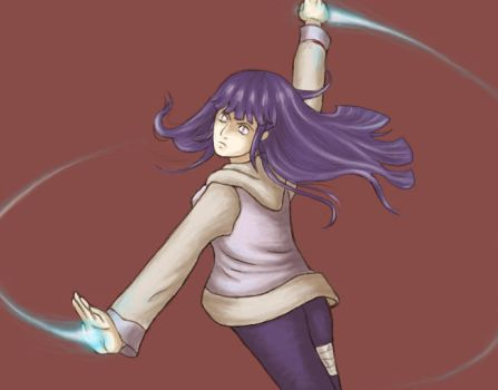 Hinata's own style by Tionniel