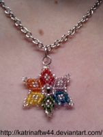 Rainbow pendant for Meesha by KatrinaFTW44