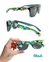 Streetart Sunglasses by Bobsmade
