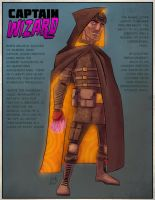 Remake - Captain Wizard by DBed