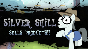 Super Smash Ponies New Challenger: Silver Shill by DashieMLPFiM