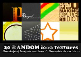 20 Random Icon Textures -2nd by Elmas