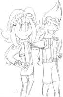 Summer and Ben by cadpig1099