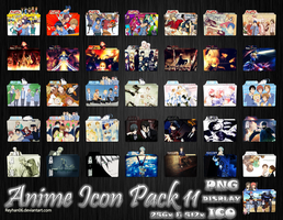 Anime Icon Pack 11 by Reyhan06