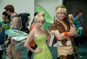 Terence an Tinkerbell Close Up by Chingrish