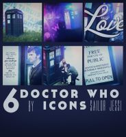 Doctor Who TARDIS Icon Pack by sorryeyescansee