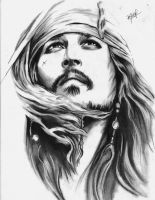 Jack Sparrow by MikeArtsAssis
