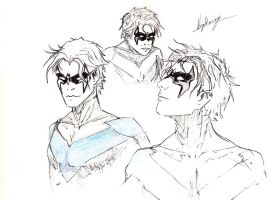 nightwing (try out) by candycotten