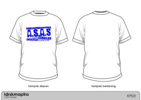 T-shirt For ASAS 1 by Idrskmaptra