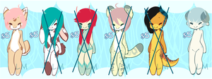 MovingMoney: Adopts Five dollars Each (2 left!!!!) by s-ailor