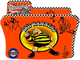 Bad Manners Music Folder icon by CBDave