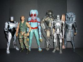 Sci-Fi Figures by CyberDrone