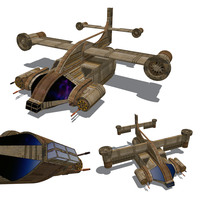 Apis Hunter Frigate by orcbruto