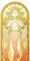 AA: Aurea Stained Glass by juhaihai