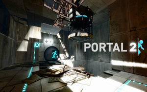 Portal 2 Wallpaper by CrossDominatriX5